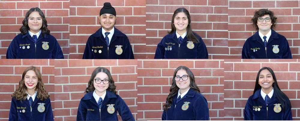2020 ffa officer team photo